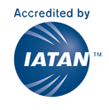 Iatan Logo, Accredited by Iatan